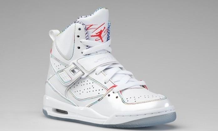chaussures de sport 5fe7a 4d4a9 air jordan fille blanche